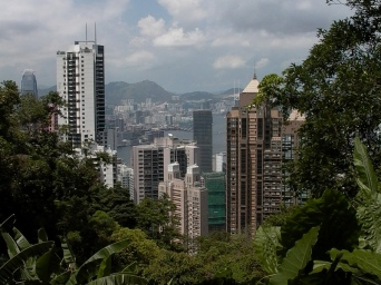 Kowloon from Hong Kong